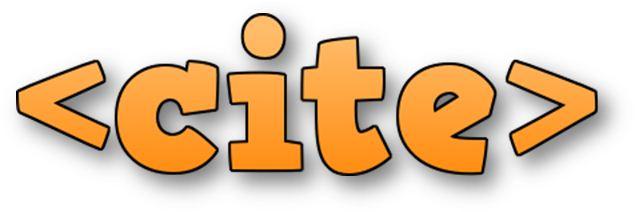 HTML Blockquote Tag Cite Attribute