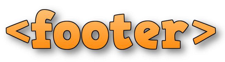 HTML Footer Tag